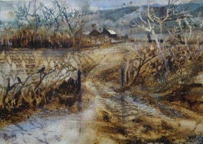 Farrow and Frost.55x45cm,Watercolour.£595 Sold