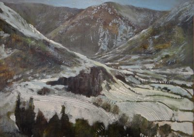 Martindale from Hallin Fell Ullswater.Oil.Image 28x22cm Frame 43x27cm.£395sold