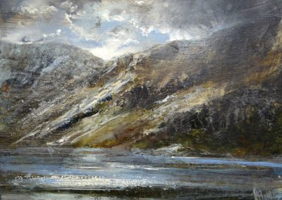 Scarth Gap Pass ButtermereOil on panel.£400sold