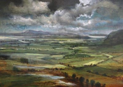 Spring showers.Oil.30x40cm..£695