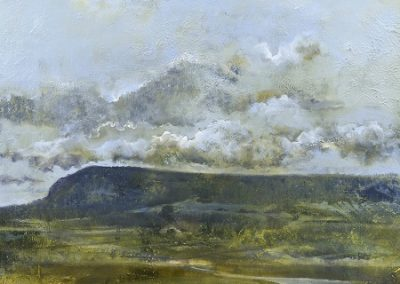 Early October morning. Whitbarrow Scar. Oil on board.60x62cm. £1600 SOLD