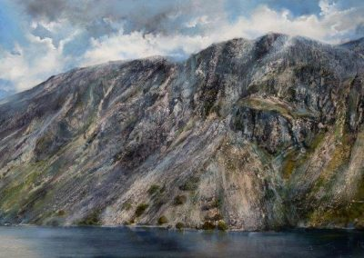 Wastwater Screes No 4.Oil. POA
