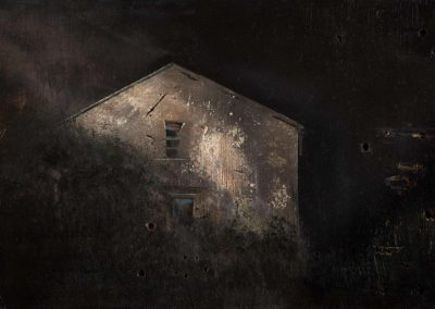 Night House.35x23cm Frame 47x34cm £595