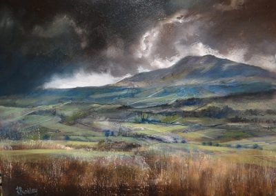 Storm over Blencathra 40x30cm..Oil.£695